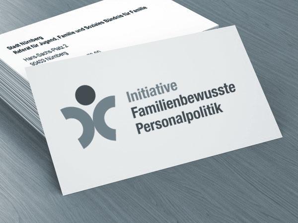 Corporate Website und Logodesign für die Initiative Familienbewusste Personalpolitik